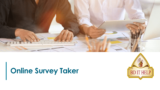 Online Survey Taker