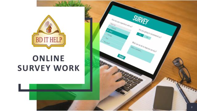 Online Survey Work