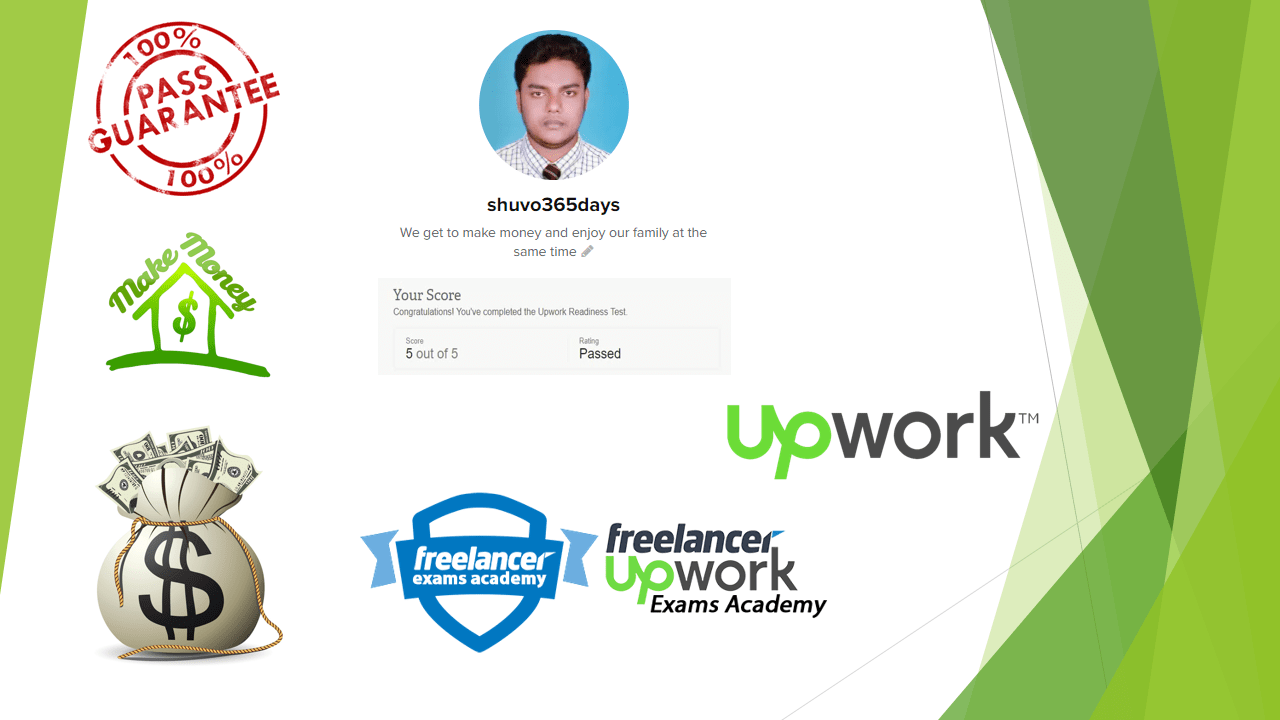 Upwork Readiness Test Answers for new Upwork Freelancers (5 out of 5)