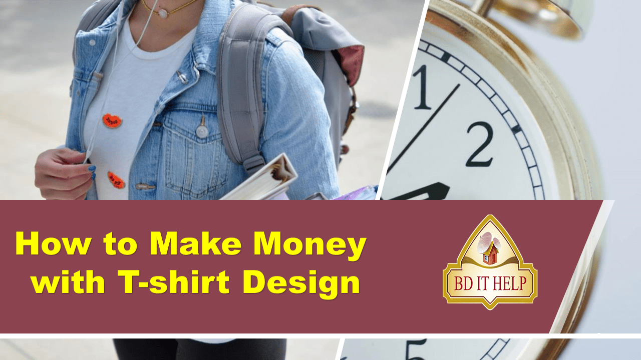 How to Make Money with a T-shirt Design
