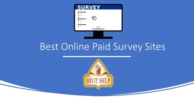 Best Online Paid Survey Sites