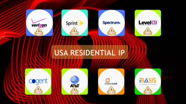 USA Residential IP for Survey Sites